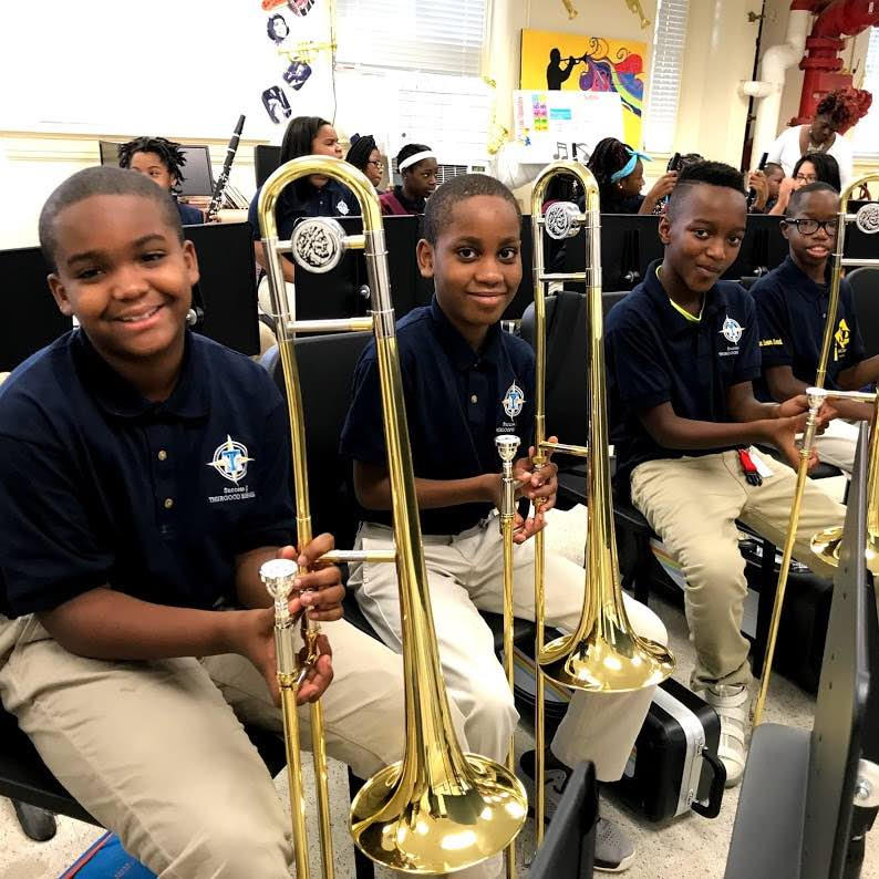 Music education grant in New Orleans