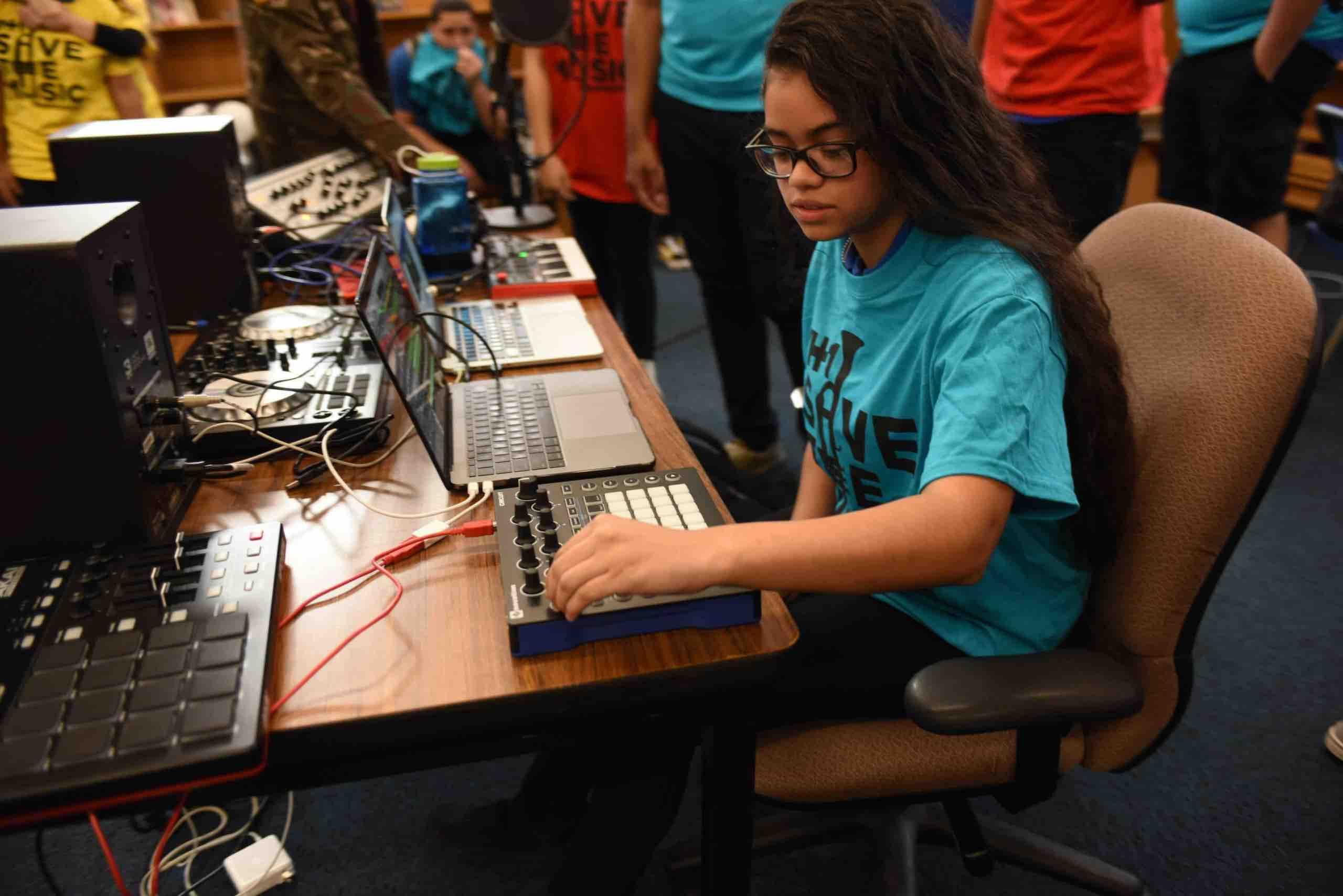 Music technology grant program
