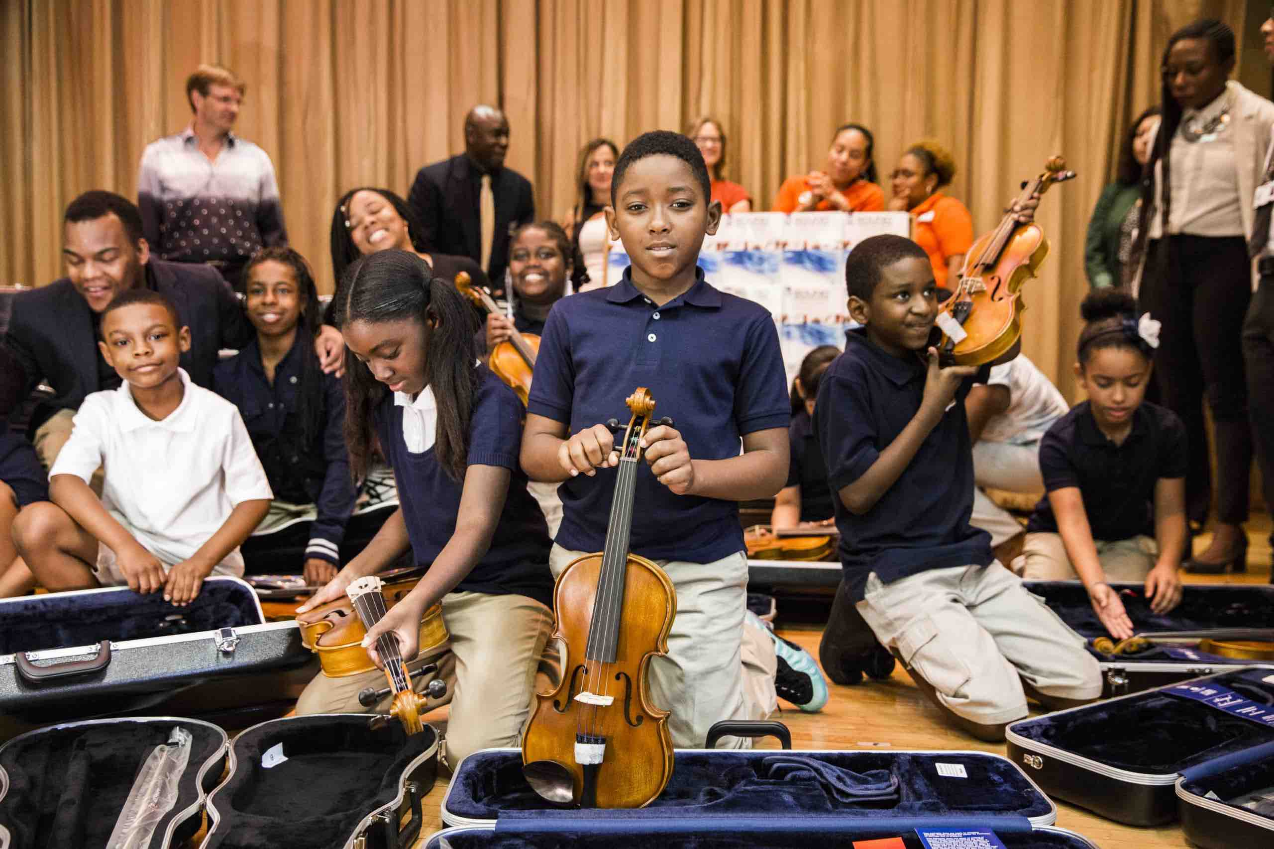 Save The Music gives music education grants in Newark