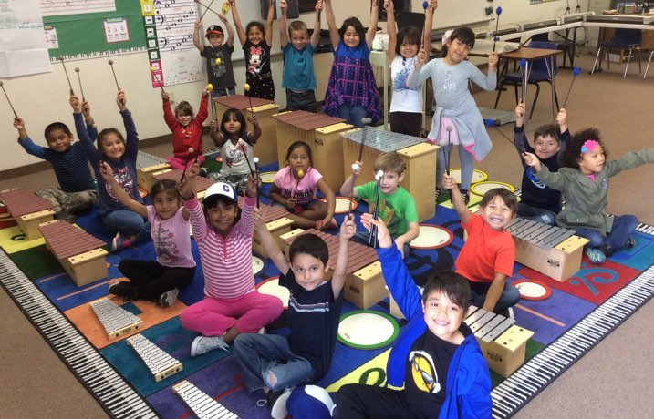 Get Started With Music grant for music education