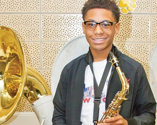 student success story in music education